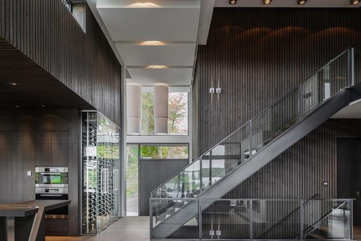 contemporain escaliers gilles grenier. Black Bedroom Furniture Sets. Home Design Ideas
